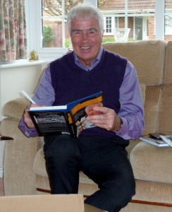 Bobby Gould....autograph time.