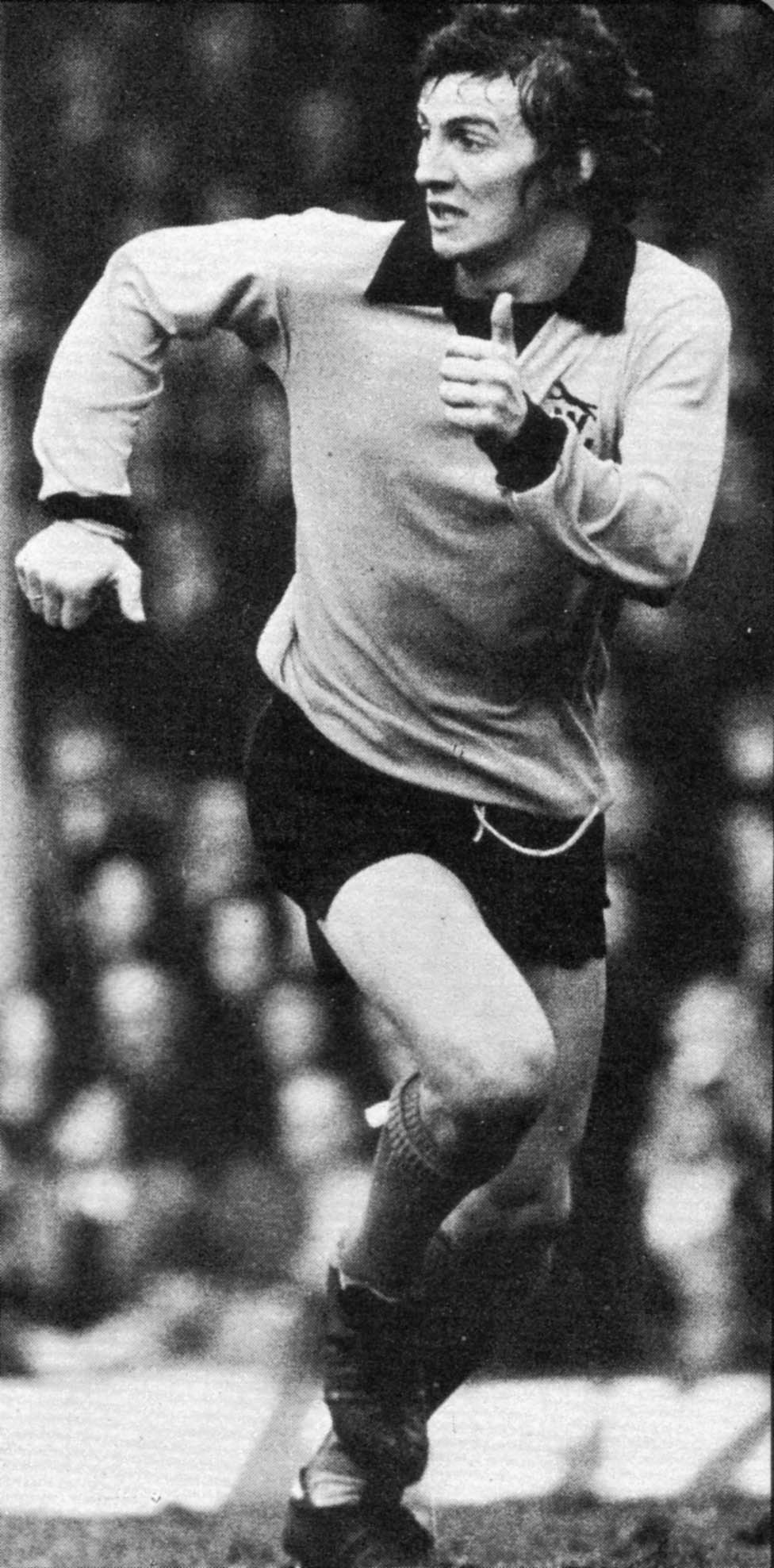 A dashing Barry Powell in 1973.