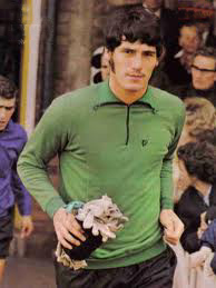 Phil Parkes, with John McAlle behind him.