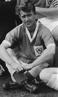 Tommy McDonald at Leicester in 1958.