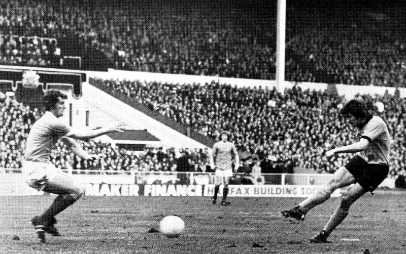 It happened 40 years and two months ago......JR rifles in the decider against Manchester City.