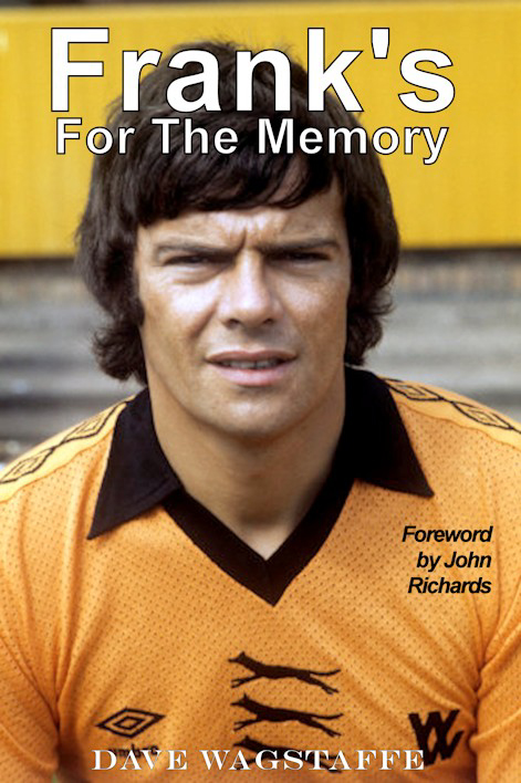 The front cover of a terrific posthumous tribute to two Wolves legends. Please note: This is a 'working' version only.