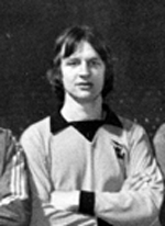 Steve Crompton pictured before one of the games in Wolves' memorable 1975-76 FA Youth Cup run.