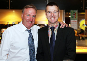 Steve Daley with Rob Clayton, a man to whom we are grateful for the use of several photos on this website.
