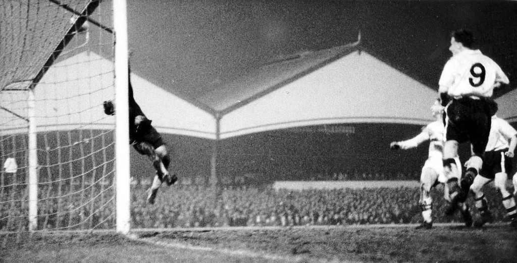 Thrills at the North Bank end, too.......