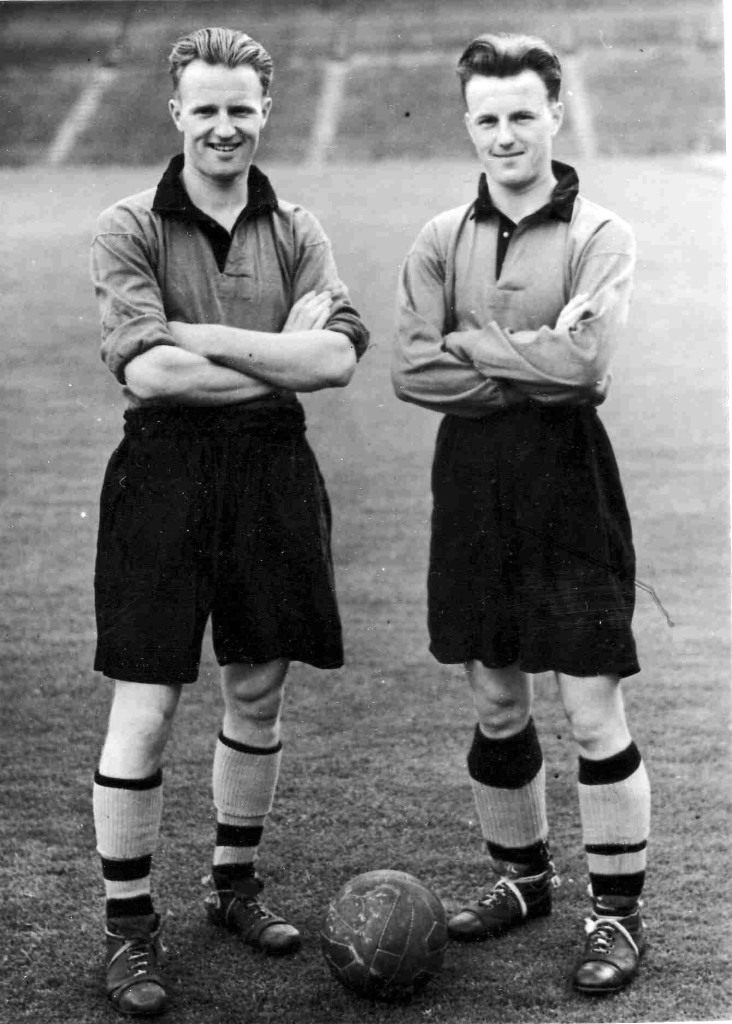 Jimmy Dunn and brother Tommy in 1949.