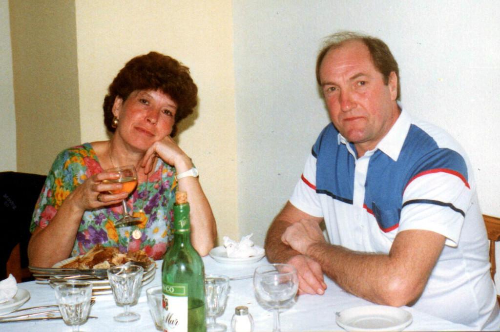 John and his wife Kathleen.