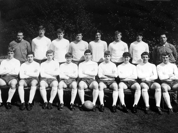Neil Rioch (two along from the left of the back row) on an England youth squad photo from 1968-69. Three along is Steve Kindon, with Dave Thomas in front of his left arm. Bill Shorthouse is far right on the back row.