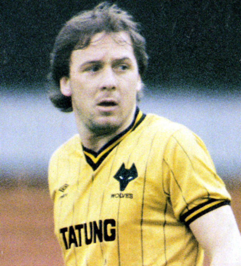 Andy King....popular figure in his Molineux stay.