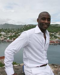 Jason Roberts in his native Caribbean.