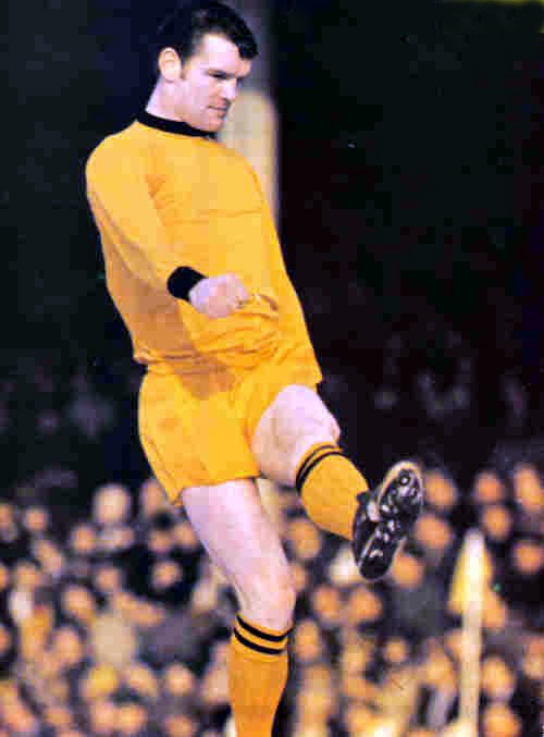 As he is fondly remembered from Wolves' all gold era.