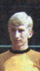 The young David Cooke at Wolves in the mid-1960s.