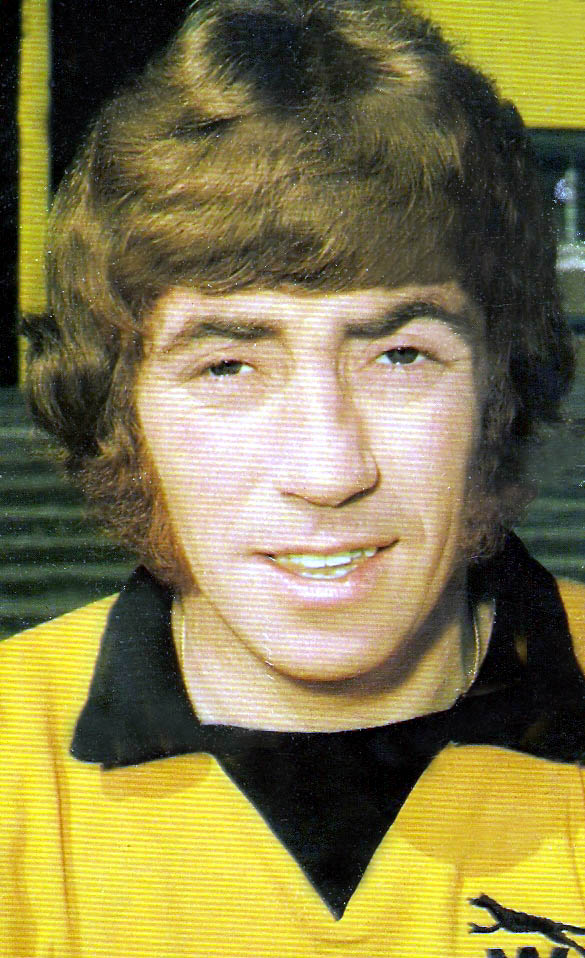Danny Hegan in his time at Wolves.