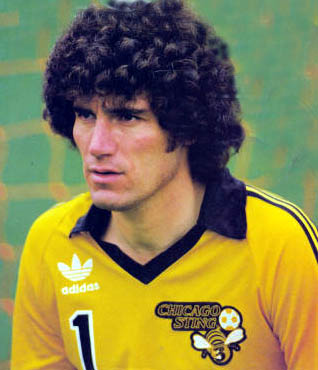 Phil Parkes during his playing days in the States.