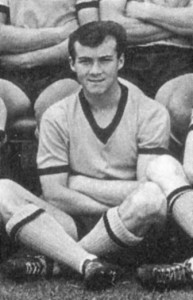 Ray Aggio in his youth days at Wolves.