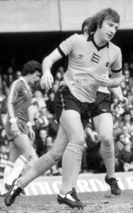 Steve Daley in action for Wolves at Chelsea.