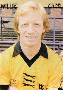Willie in Wolves colours.