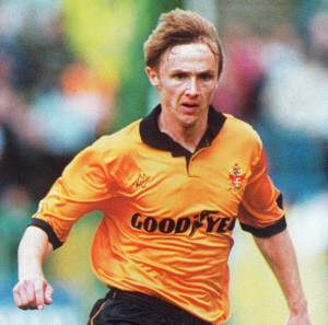 Kevin Keen soon after his arrival at Wolves in 1993.