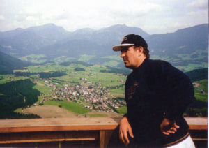 Mark McGhee in Austria in the summer of 1996.....planning his first full Wolves season.