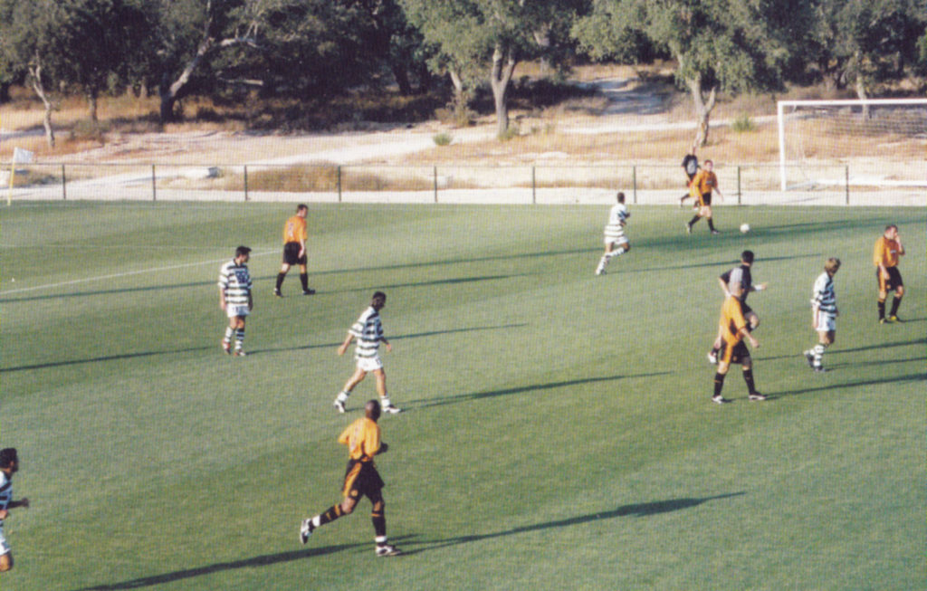 First-half action (pre Ronaldo!) from Wolves' clash with Sporting Lisbon 14 summers ago.