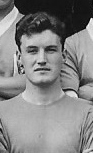 Dave Maclaren as a Leicester keeper in 1958.
