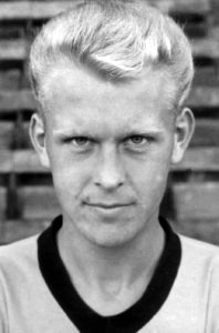 Graham Hawkins pictured during the 1960s.