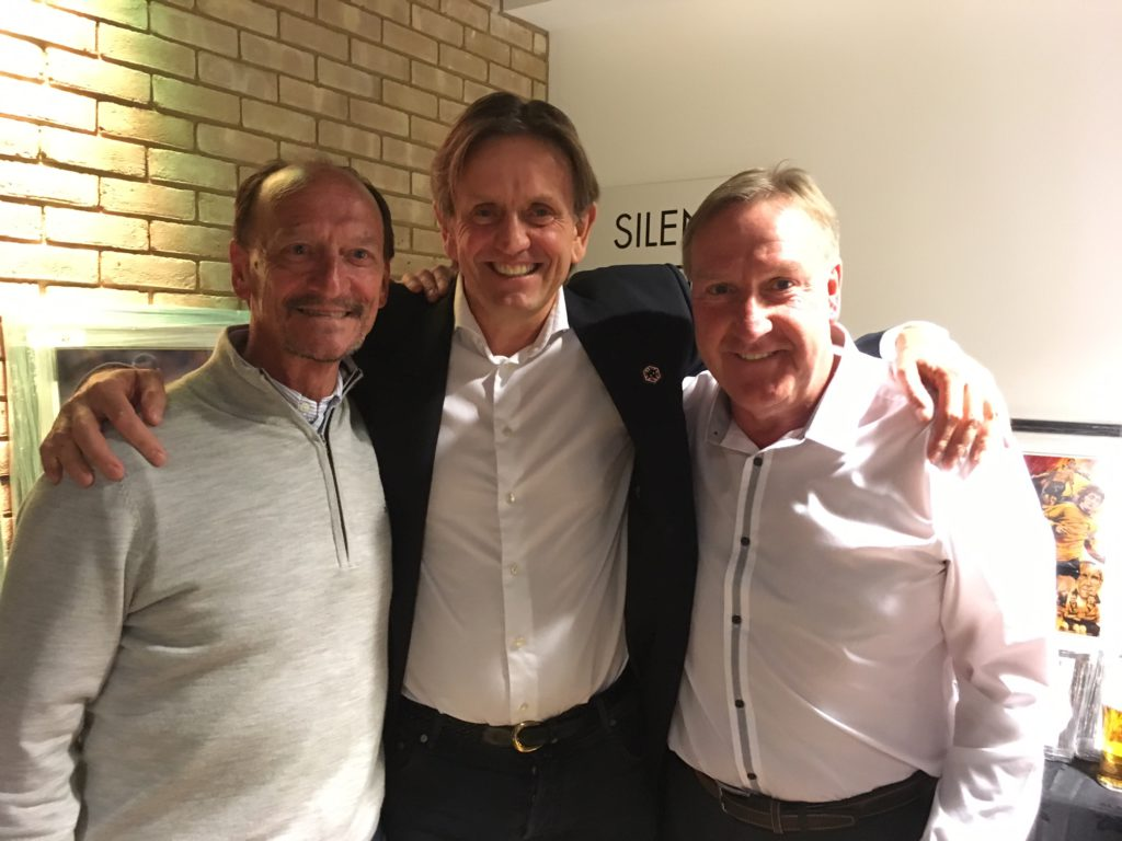 Well worth flying from Norway for.......Odin Henrikssen with Kenny Hibbitt and Steve Daley.
