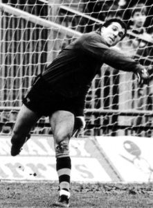 John Burridge....his action-packed career shows no sign of letting up.