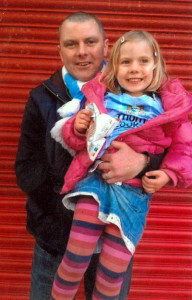 .....and now with daughter Lottie.