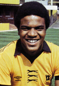 Bob Hazell......another Molineux hopeful from the testing late 1970s.