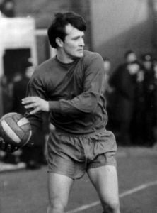 Evan Williams - one of many Scots on the 1960s Wolves playing staff.
